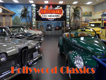 Hollywood Classics Metal Sign
