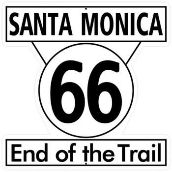 Santa Monica 66 End Of Trail