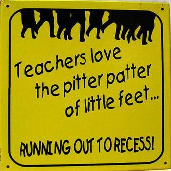 Teachers Love The Pitter Patter