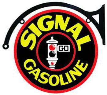 """Signal Gasoline 18"""" disk Hanging"""