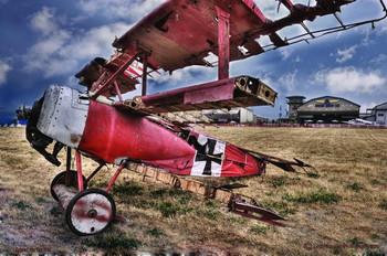 Battered War Plane
