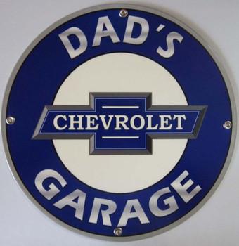 Dad's Garage Chevrolet Logo