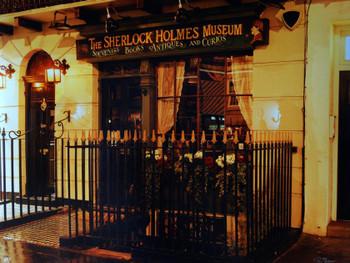 The Case of the Dueling Sherlocks Liquid Acrylic