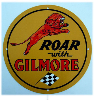 Roar With Gilmore (round)