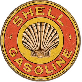 Shell Gasoline 1920's Round (DISC)