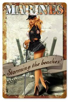 Marines-Storming The Beaches (Disc)
