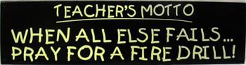 Teacher's Motto