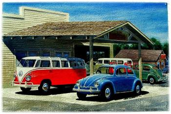 Van Service Center (custom oversize)
