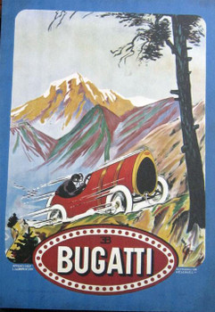 Bugatti Racing Canvas 1