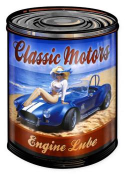 Classic Motors Pin-Up Custom Metal Shape