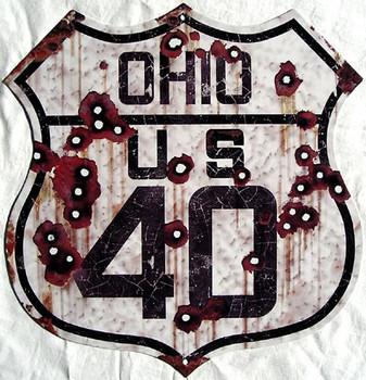 US Route Ohio 40