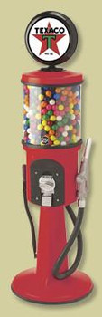 Visible Gas Pump Gumball Dispenser-Texaco
