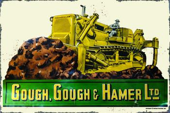 Gough Gough & Hammer LTD Metal Sign