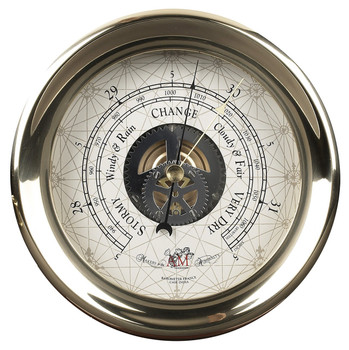 Brass Captain's Barometer  SC041 (DISCONTINUED)