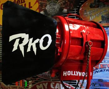 Mole-Richardson Hollywood 2K Red Movie Light Original circa 1940's