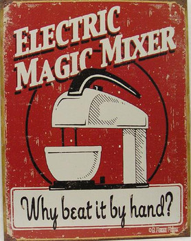 Electric Magic Mixer-Why beat it by hand? (DISC)