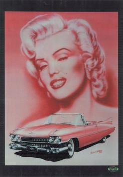 Marilyn Monroe with Cadillac (jumbo)
