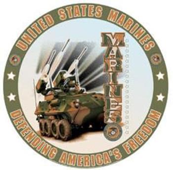 United States Marines (round)