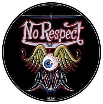 "No Respect Flying Eye Ball 14"" Round"
