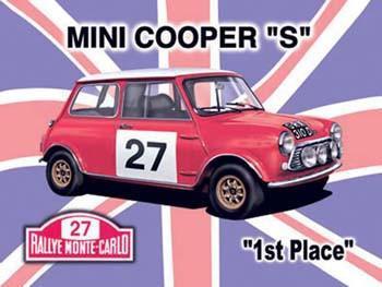 "Mini Cooper ""S"" Metal Sign"