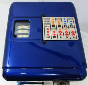 Mills 5c Vest Pocket Trade Stimulator Circa 1930 Blue