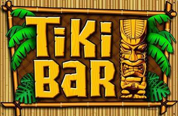 Tiki Bar Metal Sign Large