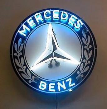 Mercedes Benz Advertising Neon