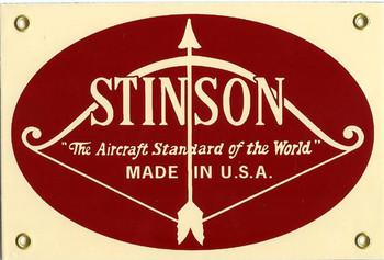 Stinson Porcelain Sign