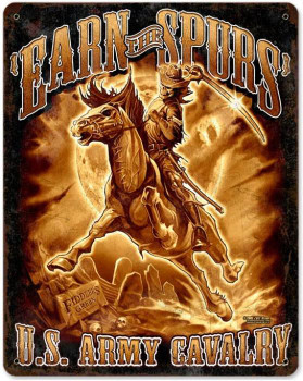 Army Cavalry Earn Your Spurs