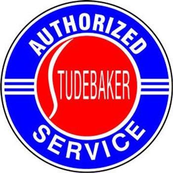 "Studebaker  Service 12"" Disc"