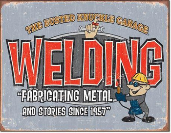 Busted Knuckle-Welding