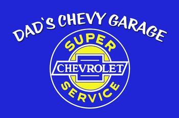 Dad's Chevy Garage
