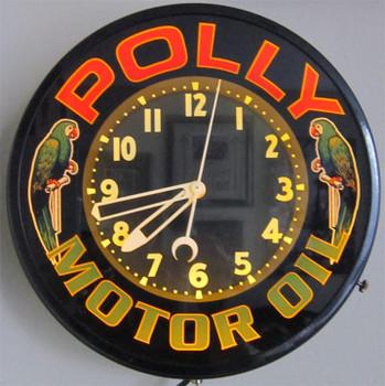 Polly Neon Clock