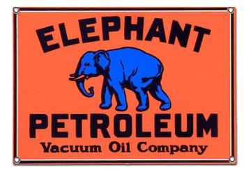 ELEPHANT PETROLEUM METAL SIGN
