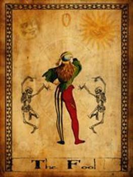 The Fool-Tarot Metal Sign