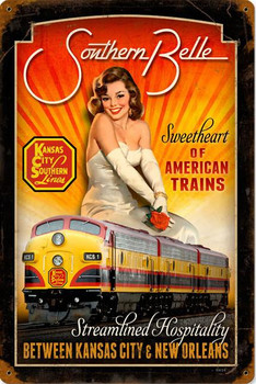 Southern Belle Pin-Up Railroad