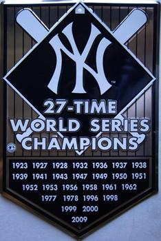 NY World Series Champions