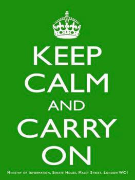 Keep Calm (green)