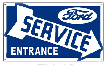Ford Service Entrance (right)