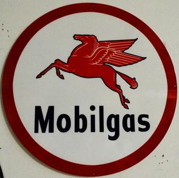 """Mobilgas 38"""" Large Round"""