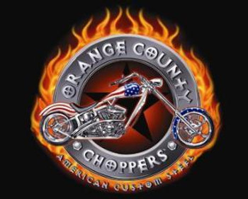Orange County Choppers-Flames (disc) Metal Sign