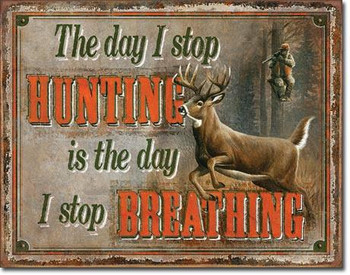 Stop Hunting Stop Breathing