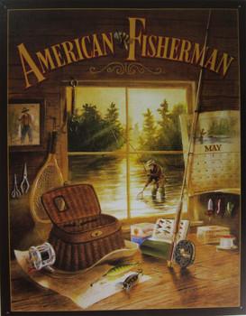 American Fisherman Sign (DISC)
