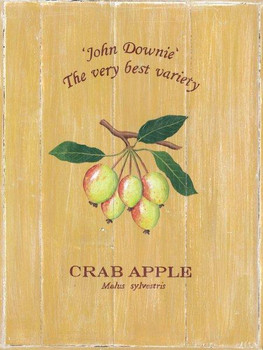 Crab Apple Metal sign