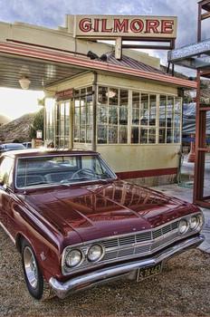 Gilmore Station / El Camino Metal Sign