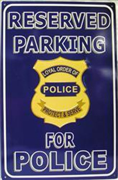 Reserved Parking For Police