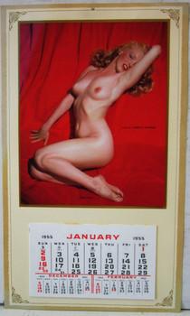 Vintage Marilyn Monroe 1955 Calendar