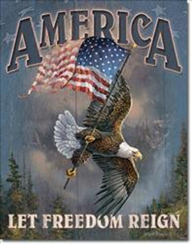 America-Let Freedom Reign