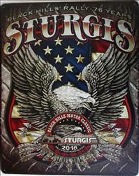 Sturgis Eagle 2016 Metal Sign