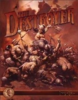 Destroyer-Frazetta